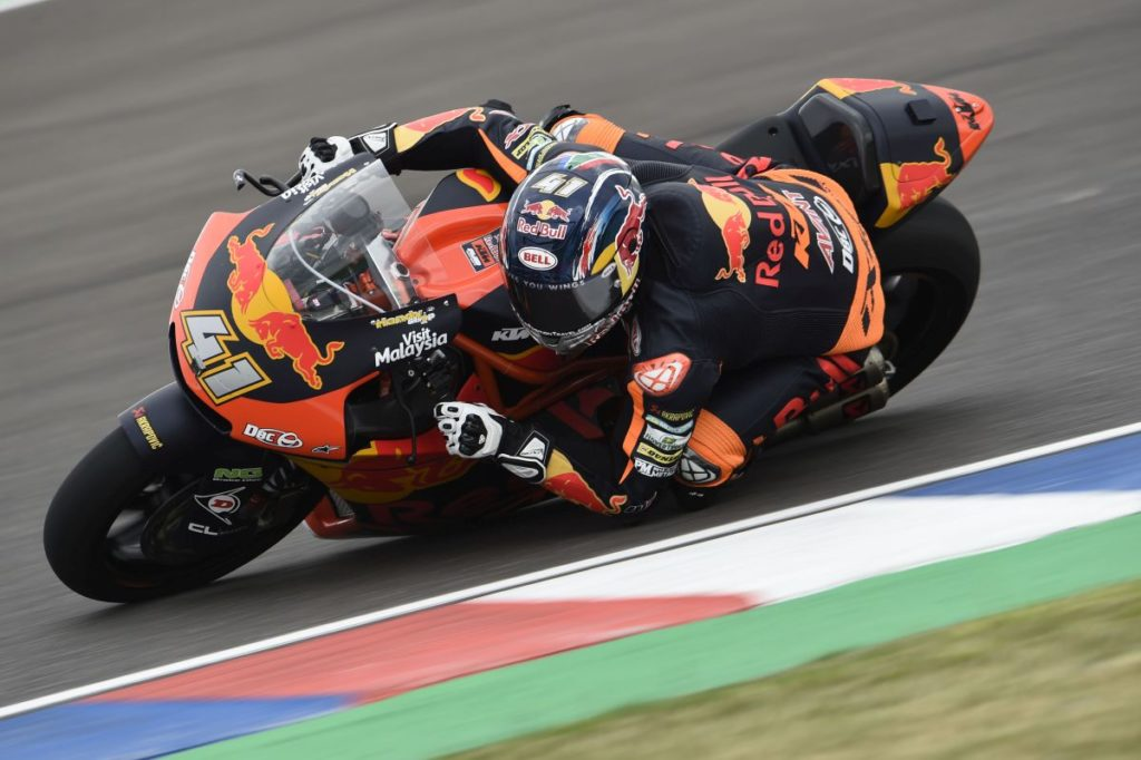 Brad Binder KTM top five Argentina Friday 1