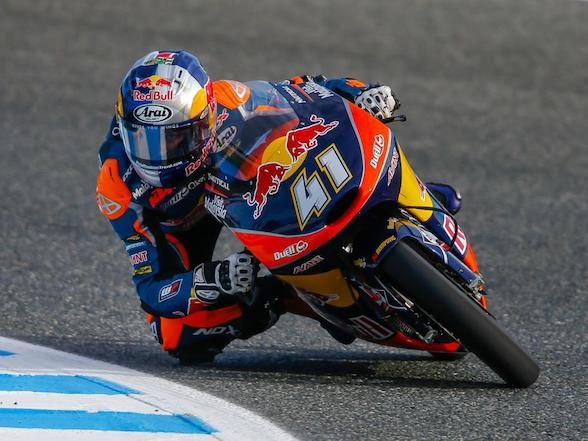 Two years ago today, Brad Binder came from last to first
