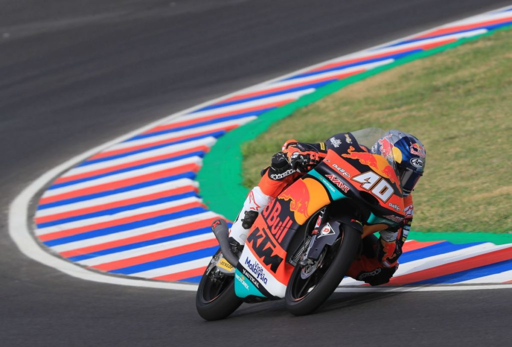 Darryn Binder KTM tough Argentina Friday 2