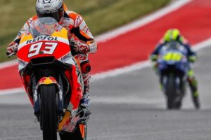 Donovan Fourie: COTA MotoGP race –it's not going to rain, unfortunately