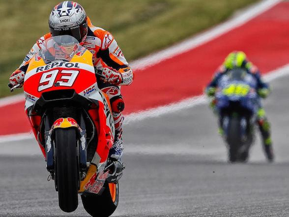 Donovan Fourie: COTA MotoGP race – it's not going to rain, unfortunately