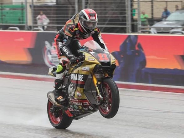 SA's Mathew Scholtz wins Texas MotoAmerica Superbike Race One
