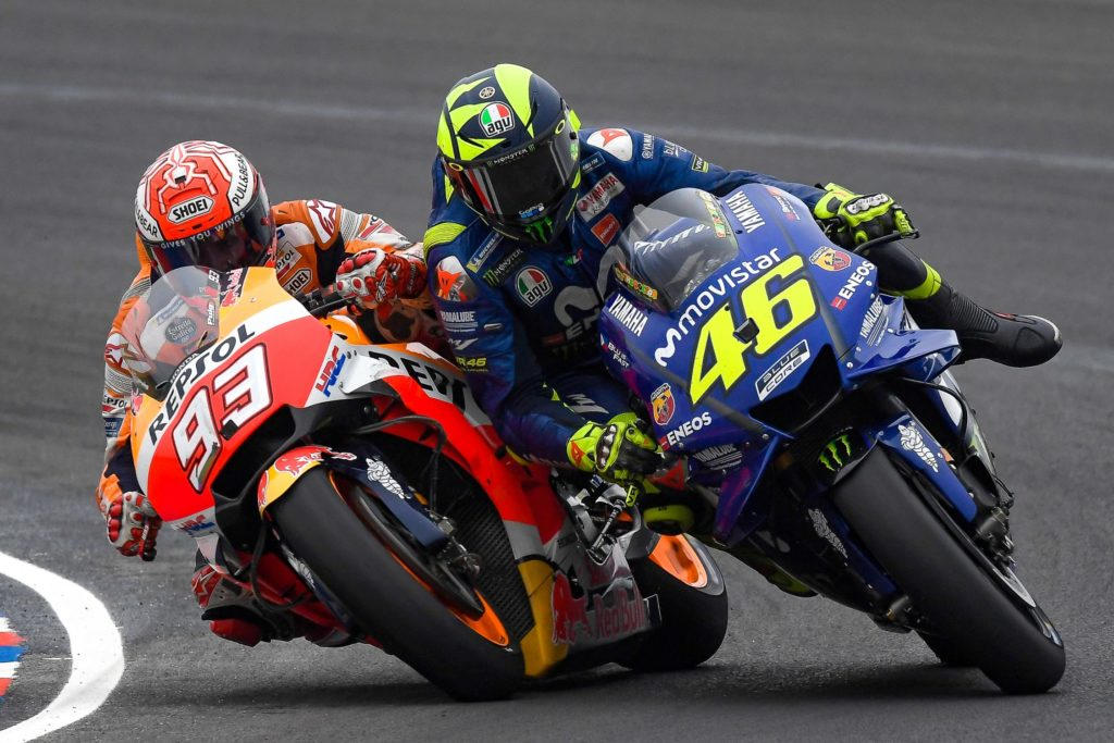 MotoGP Argentina Marquez fault Rossi clash