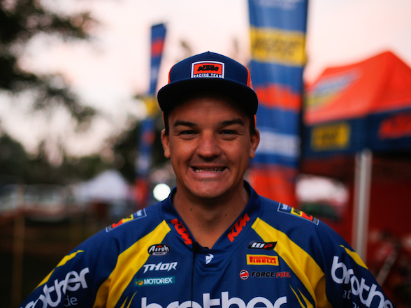 Multiple SA champ Ross Branch to ride Dakar