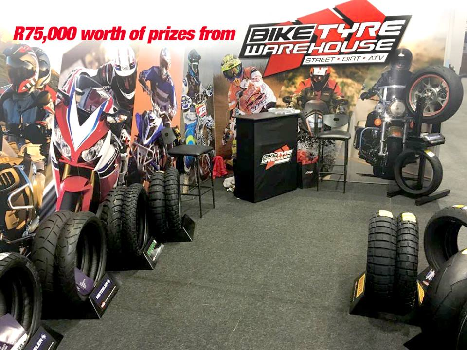 Bike Tyre Warehouse South Africa Festival Prizes Win