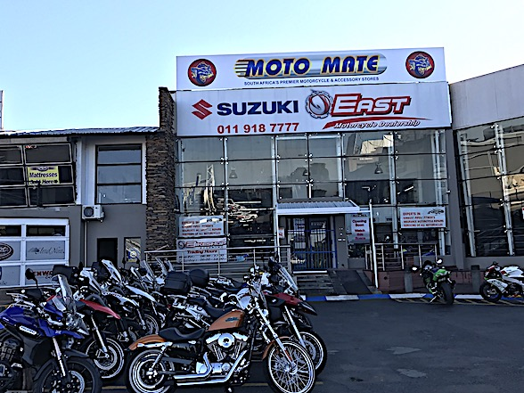 Moto Mate joins Bikeshop Boksburg in the East Rand