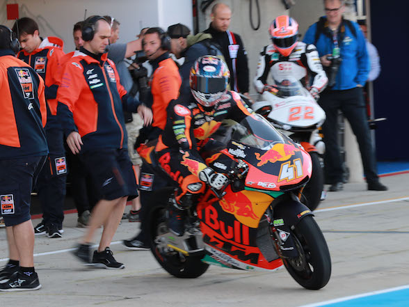 "Brad Binder at Le Mans: ""My biggest problem is stopping the bike"""