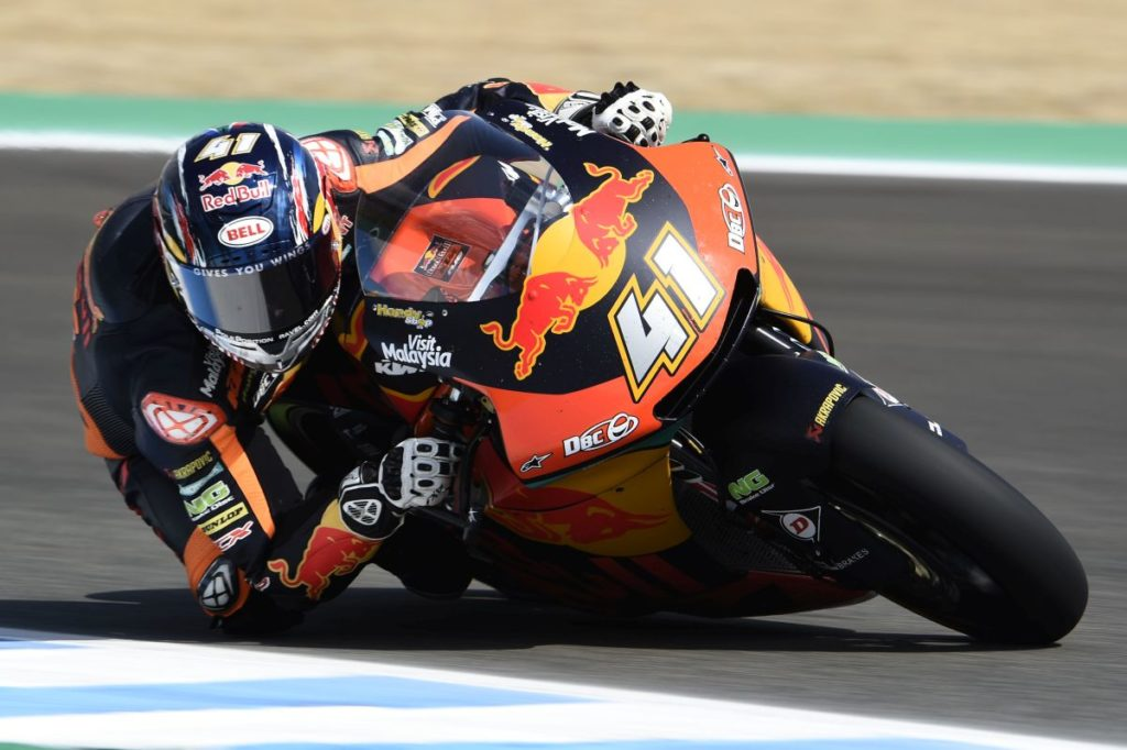 Brad Binder Jerez Friday day one