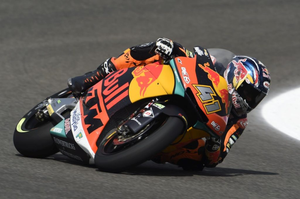 Brad Binder Jerez Friday day one Elbow
