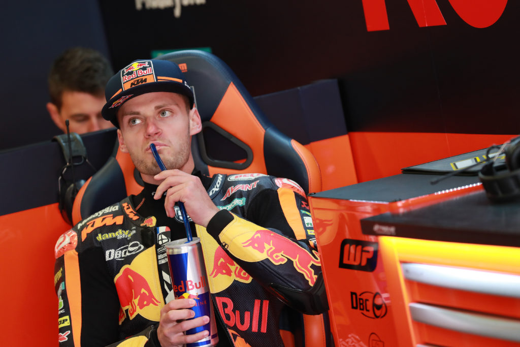 Brad Binder Le Mans Qualifyng Red Bull