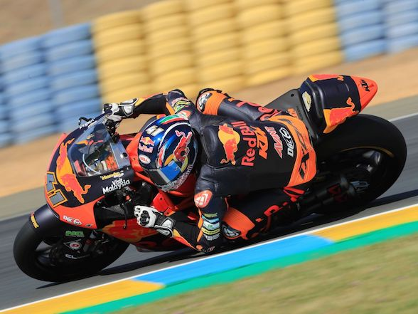 Top ten qualifying for Brad Binder at Le Mans