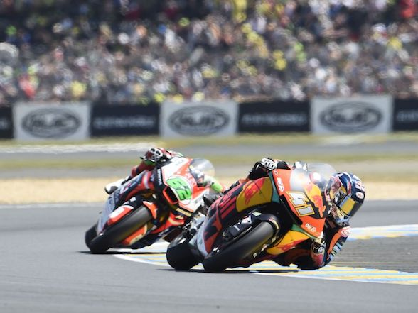 "Brad Binder at Le Mans: ""I was unlucky with the Baldassarri crash"""