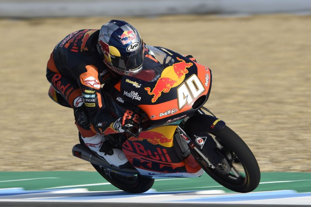 Darryn Binder Jerez Friday day one