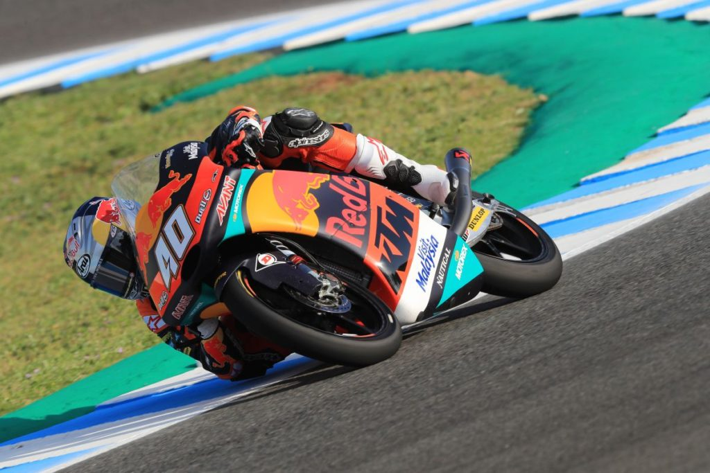 Darryn Binder Jerez Friday day one elbow