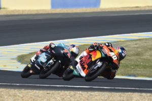 "Darryn Binder on top finish: ""I was feeling the pain of the crash"""