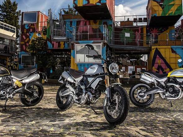 Launch of Scrambler 1100 and 959 Corse at Ducati Cape Town today