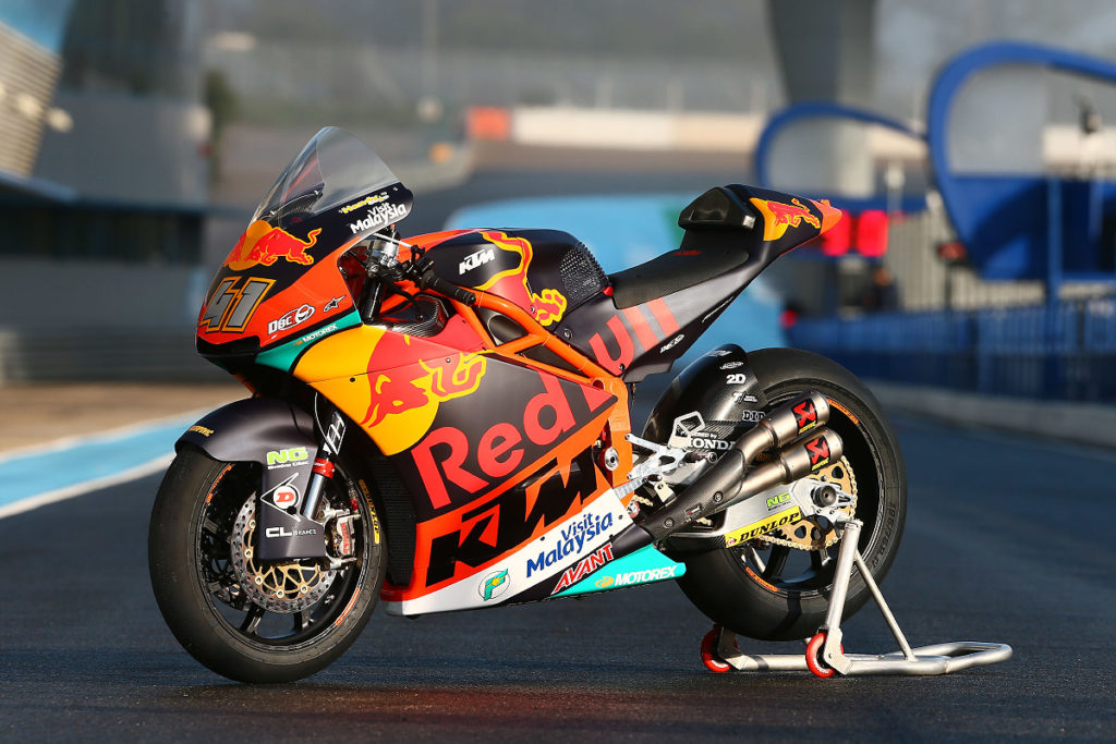 KTM Brad Binder Moto2 South Africa Bike Festival