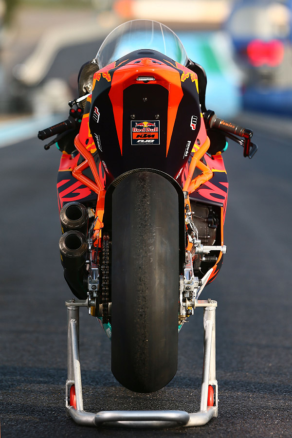 KTM Brad Binder Moto2 South Africa Bike Festival rear