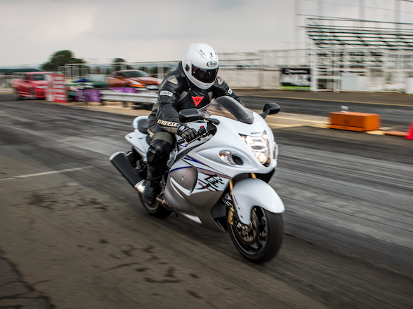 Mother's Day gift: Taking your mom for a ride on a Hayabusa