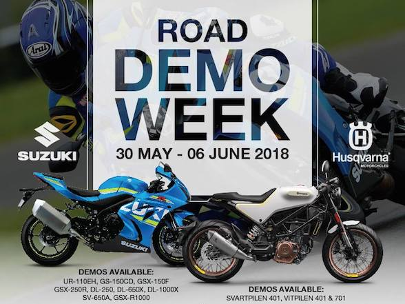 Biker's Warehouse Demo Week – 12 bikes to ride