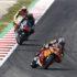 Brad Binder qualifying Catalunya Race Sideways