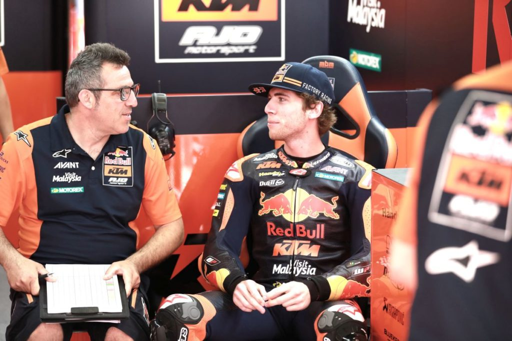 Darryn Binder qualifying Catalunya temperature