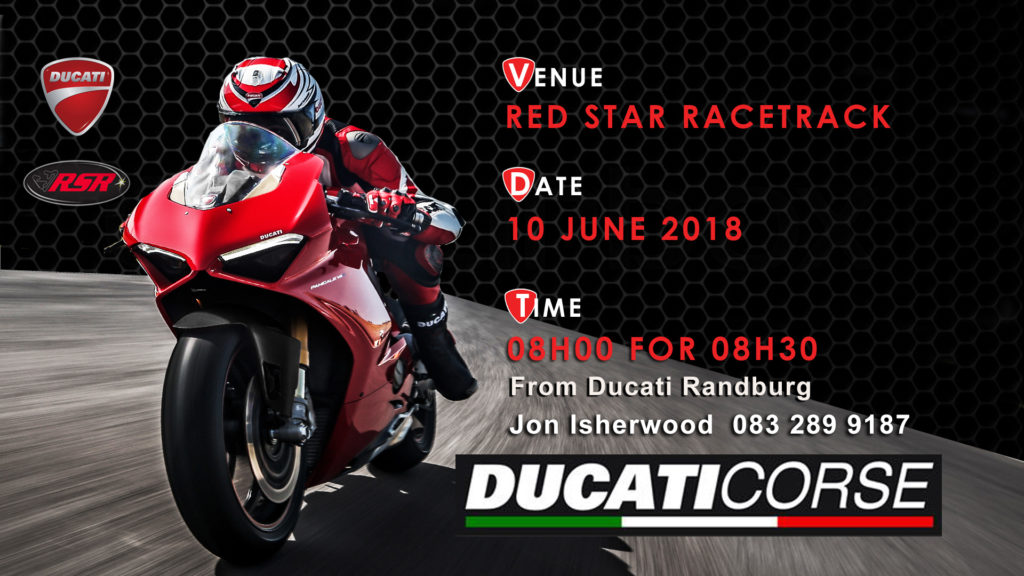 Ducati Owners Club South Africa Breakfast Run to Red Star