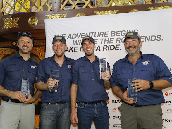 Team South Africa makes history by winning second BMW GS Trophy