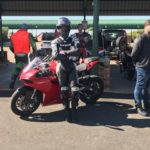 a Ducati Owners Club South Africa DOCSA Red Star 9