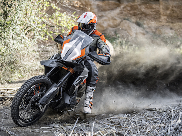 Win a KTM 790 Adventure R ride with the KTM Adventure Rally