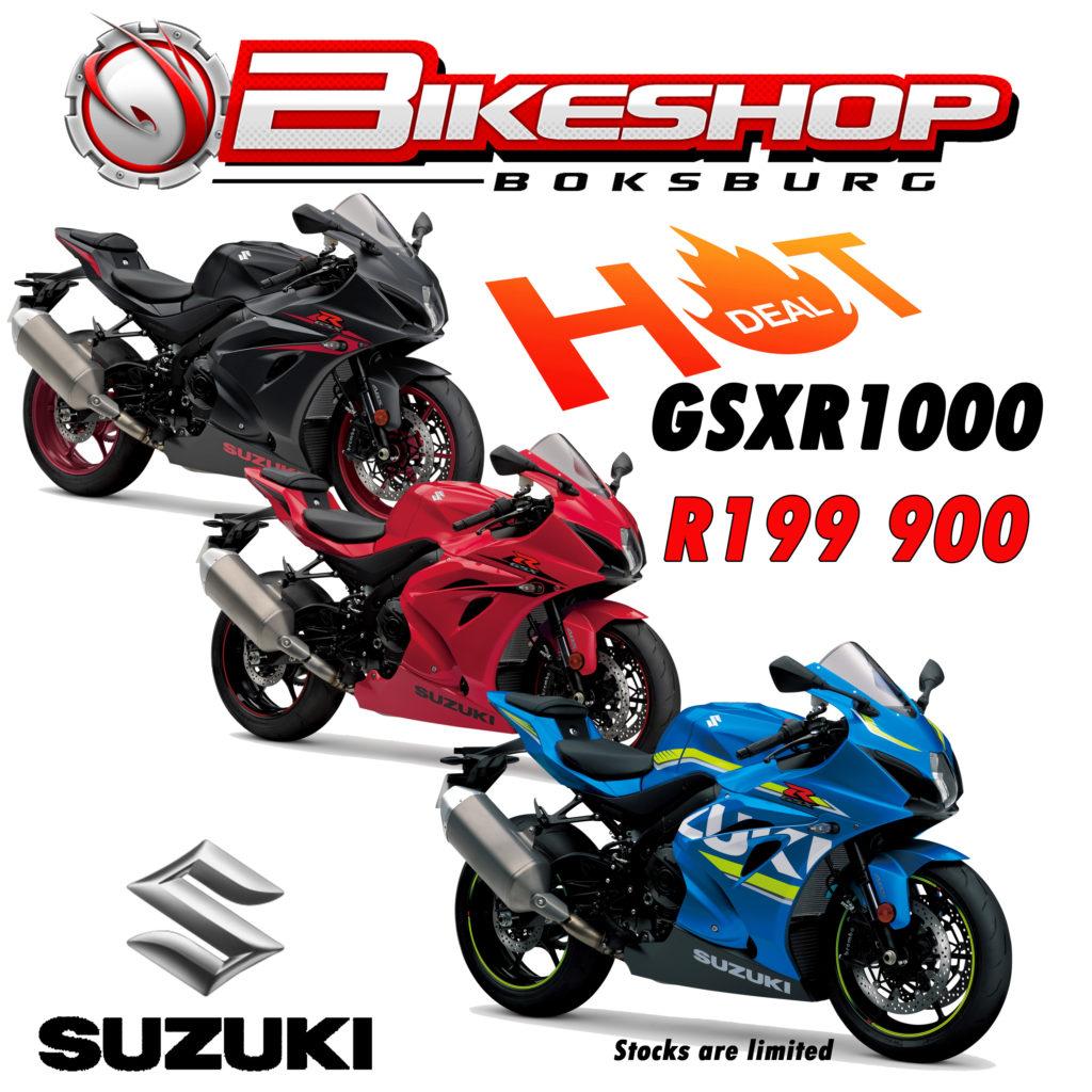 Bikeshop Boksburg specials Suzuki East gsxr1000