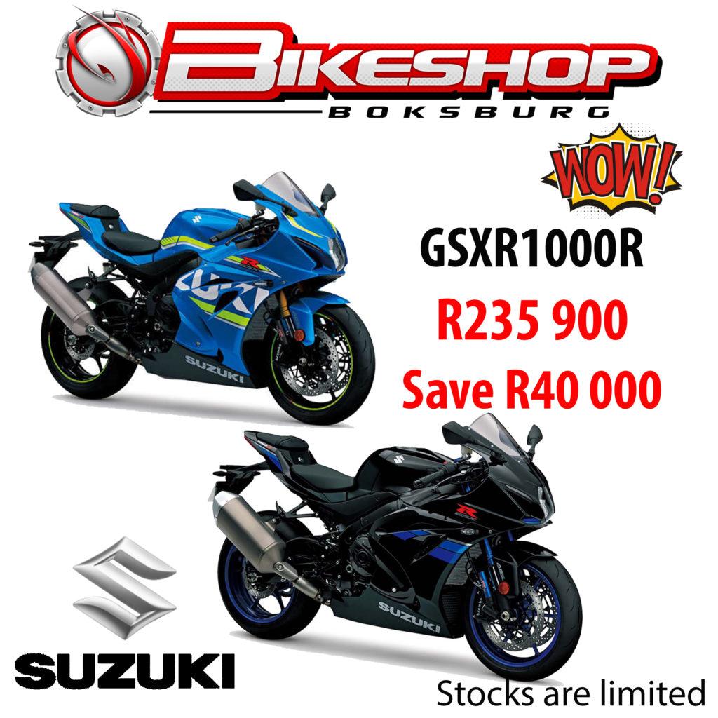 Bikeshop Boksburg specials Suzuki East gsxr1000r