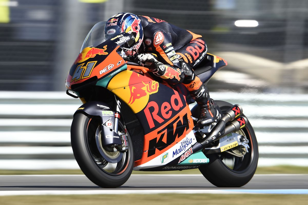 "Brad Binder at Assen: ""I was finally able to ride the bike"
