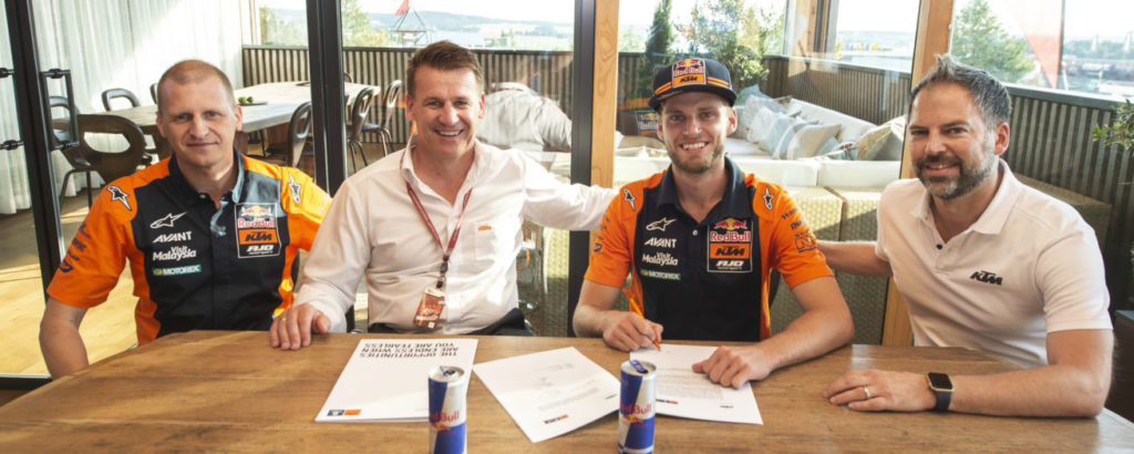 Brad Binder resigns Moto2 2019 KTM Ajo Red Bull