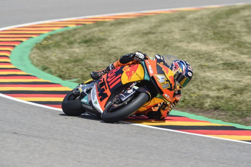 Brad Binder resigns Moto2 2019 KTM Ajo Red Bull elbow