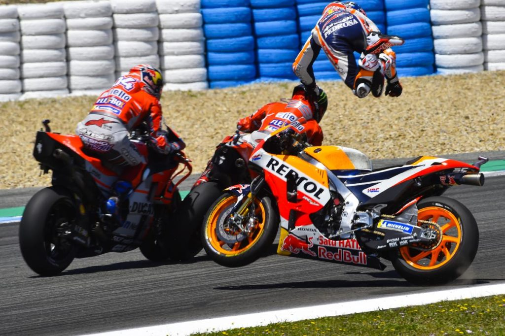 Dani Pedrosa Retiring MotoGP crash
