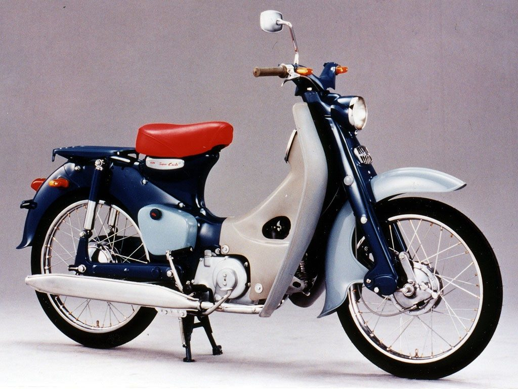 Great Bikes Honda Super Cub Most Successful Vehicle Ever The Motorcycles History C100