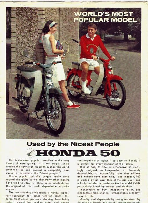 HONDA-C100-Super-Cub advert nicest people