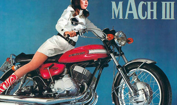 Great Bikes: Kawasaki Mach III – The Widowmaker