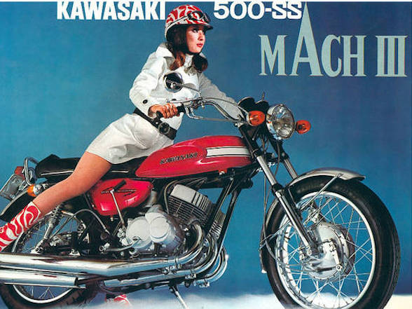 Great Bikes: Kawasaki Mach III – The Widowmaker