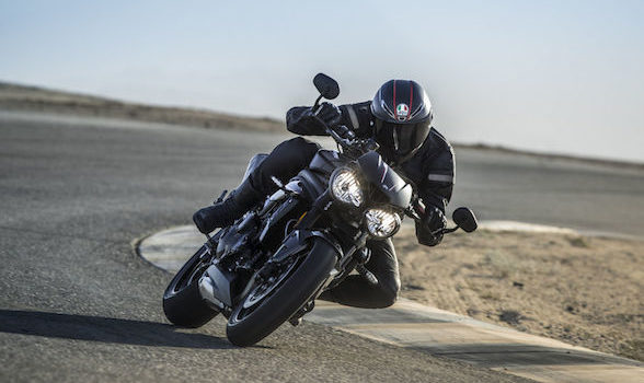 """Triumph Speed Triple RS: """"Hooligan tool for the grown-up delinquent"""""""