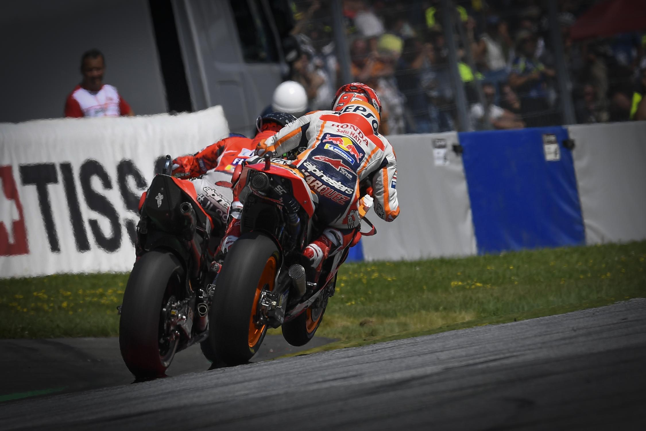 Austrian MotoGP Round-Up- The hammer, the butter and Marc Lorenzo close