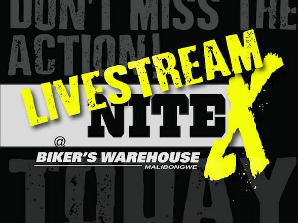 NiteX Enduro will be live streaming today from 12:30