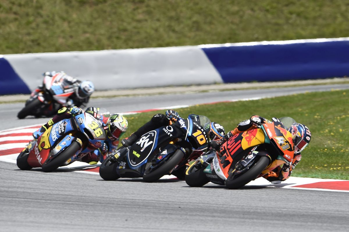 Brad Binder Austria Red Bull Ring Moto2 KTM