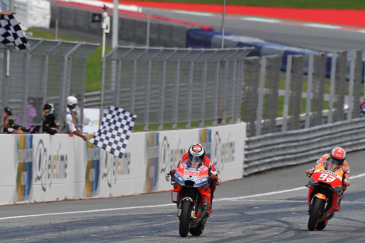 Jorge Lorenzo Arrogant cocky flag