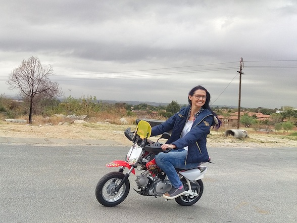 Tank Girls to ride Puzey 70cc Thumpers from Cape Town to Jo'burg