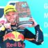 Brad Binder Aragon Moto2 Win podium feature