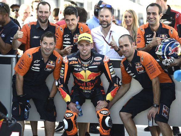 "Brad Binder on his pole: ""At this Grand Prix we are stronger than we have been all season"""