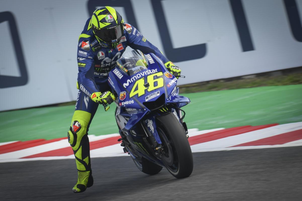 MotoGP Misano 2018 Valentino Rossi