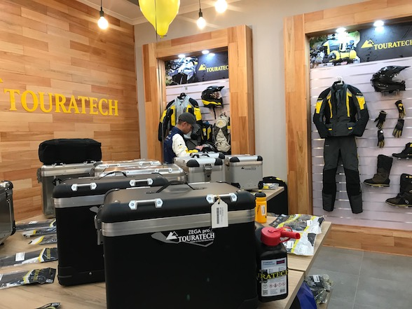 New Touratech SA is officially open